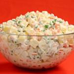 Салат Оливье традиционный рецепт
