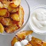 Картофель в соевом соусе