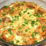 Картофель запечённый со сливками
