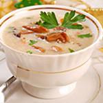 Суп пюре из вешенок